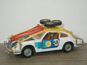 Porsche 912 Coupe Rallye London Sydney - Mebetoys A-51 Italy 1:43 *45698