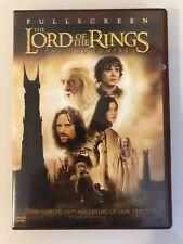 Lord Of The Rings The Two Towers Full Screen Edition Disks In Perfect Condition!