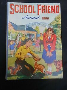 ** THE SCHOOL FRIEND ANNUAL 1955 ** Unclipped & Unmarked FREE UK POSTAGE