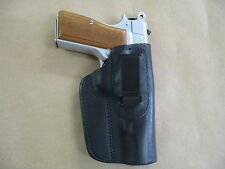 FEG PJK-9HP IWB Leather In The Waistband Concealed Carry Holster Black RH
