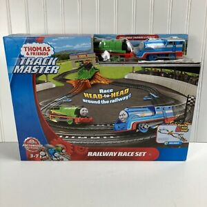 Thomas & Friends Track Master Motorized Action Railway Race Set Fisher-Price
