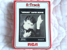 DAVID BOWIE HEROES 8 TRACK TAPE NEW SEALED 1977 RCA STERE0 8