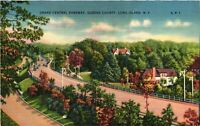 Vintage Postcard - Grand Central Parkway Long Island New York NY Unposted #2931