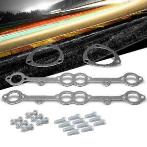 BFC Aluminum Graphite Exhaust Gasket For 69-91 Chevrolet Blazer 5.0L/5.7L V8