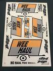 Bolink Wee Haul Sticker Decal Sheet