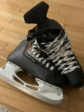 Easton Eq10 Ice Hockey Skates Mens Size 8 Skate 9.5 Shoe Nice Condition