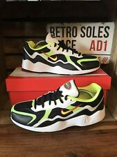 Nike Air Zoom Alpha Trainers UK Size 10 White Black Leather BQ8800 003