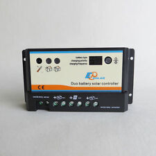 EPever EPIPDB-COM Dual Battery Solar Charge Controller 10A 12/24V auto