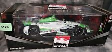 1:18 2014 Greenlight Carlos Munoz #26 Andretti Autosport Indy RARE (4124)