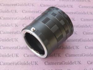 Macro Extension Tube AI for Nikon F mount DSLR D7500 D7200 D7100 D7000 camera