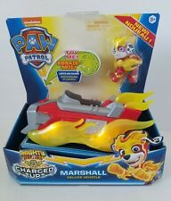 MARSHALL Paw Patrol Mighty Pups Charged Up Deluxe Vehicle Lights Up NIB