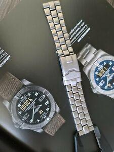 Breitling Aerospace e75362  126E Titanium Watch Bracelet  20mm Wide