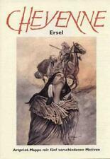 CHEYENNE PORTFOLIO ERSEL (Erwin Sels)  ARTPRINT-MAPPE lim.200 Ex. SILBERPFEIL