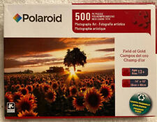 Field Of Gold 500 Pieces Polaroid Puzzle NEW & Sealed