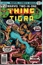 Marvel Comics Group! Marvel Two-In-One: The Thing and Tigra! Issue 19!
