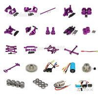Alum Upgrade DIY Parts For RC 1/18 WLtoys Off-road A959 A969 A979 K929 Purple