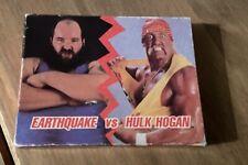 WWF RETRO WRESTLING SUPERSTARS CARD GAME BOXED