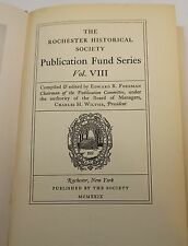 The Rochester Historical Society Publication Fund Series Vol. VIII  1929 Map