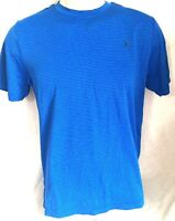 Old Navy Active GO-DRY T-Shirt Size S  Blue Striped Stretch Mens