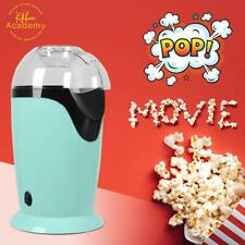 Kitchen Academy Hot Air Popcorn Popper, No Oil Popcorn Maker with Measuring Cup