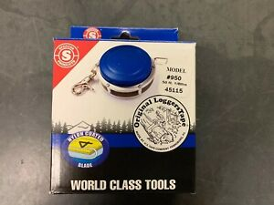 """Spencer Pro Loggers Tape 3/8"""" 50' Model 950 #45115 with one free horseshoe nail"""