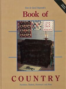 Antique Country Collectibles - Baskets Stoneware Furniture Etc. /  Book + Values
