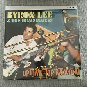 BYRON LEE & DRAGONAIRES Uptown Top Ranking 2 LP CLEAR Colored Vinyl NEW SEALED