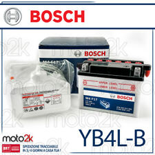 BATTERIA BOSH 12V 4AH PIAGGIO PB4L-B YB4L-B ACIDO INCLUSO UNIVERSALE SCOOTER 50