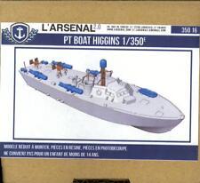 L'Arsenal Models 1/350 HIGGINS PT BOAT (2) Resin & Photo Etch Model