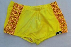 Vintage Ulloa Men's Square Cut Swim Suit Medium