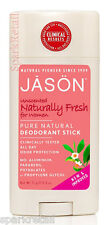 Jason Organic Unscented Naturally Fresh Pure Natural DEODORANT For WOMEN 71g