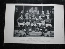 RARE Original Famous Footballers, #095 London Scottish Rugby Team 1895 - 96