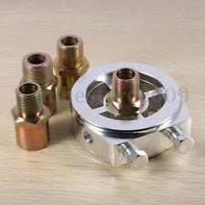 Universal Oil /Temperature Gauge Filter Sandwich Plate Sensor M18/M22 3/4 UNF