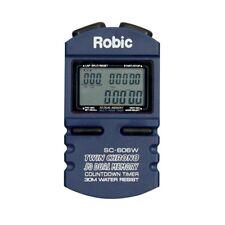 Robic SC-606W 50 Lap Memory Stopwatch w/ Countdown Timer
