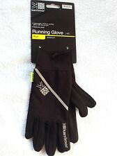 KARRIMOR BLACK GLOVE LINERS SKI CYCLE RUNNING GLOVES XL  MENS