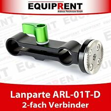 Lanparte ARL-01T-D 2-fach Verbinder für 15mm Rods mit ARRI Verzahnung (EQC58)