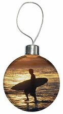 Sunset Surf Christmas Tree Bauble Decoration Gift, SPO-S2CB