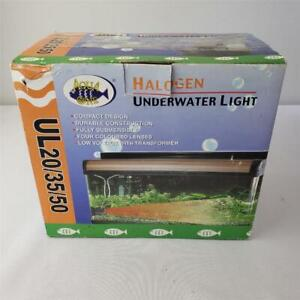 = Aqua One Halogen Underwater Light UL 20/35/50 Compact Design UL50 50W