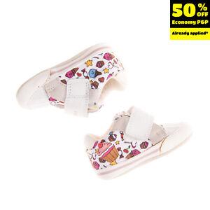 GEOX RESPIRA Sneakers EU20 UK3.5 US4.5 Breathable Antibacterial Patterned Logo