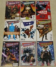FREEDOM FIGHTERS (2010) Set #1 - 9 NM (DC Comics) !!
