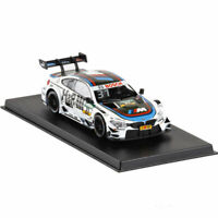 BMW M4 DTM 2017 Racing Car 1/43 Model Car Diecast Gift Toy Vehicle Kids White