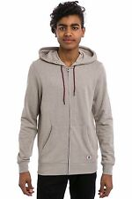 2017 NWT MENS ELEMENT CLASSIC CORNELL OVERDYE ZIP UP HOODIE $55 M ash grey