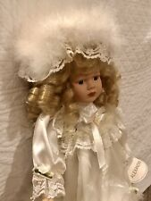 Hand-Crafted Porcelain Doll of Distinction, Alexandra, Collectors Item by Salco