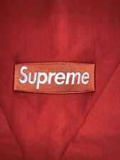 Supreme Box Logo Crewneck (FW18) Color Rust Size Medium