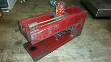 """Enerpac RC104 ?  Hydraulic press Cylinder 10 Ton X4"""" CABLE & HOSE CRIMPER"""