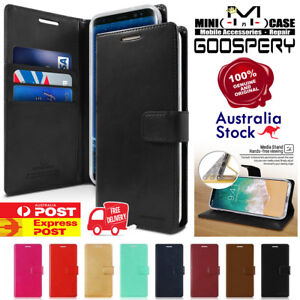 iPhone 12 Mini/12/12 Pro/Max Goospery Bluemoon Flip Leather Magnetic Wallet Case