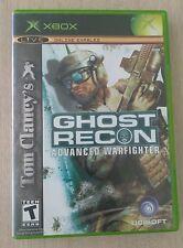 Tom Clancy's Ghost Recon: Advanced Warfighter (Microsoft Xbox, 2006)
