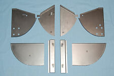 Jaguar E-Type, XKE - COMPLETE Sill Closing Panel Kit - 8 PIECES - SAVE!
