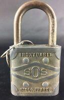 Collection cadenas- Ancien SOS n°144 avec 2 clefs
