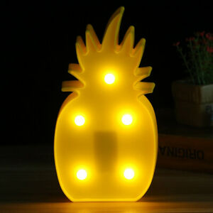 LED Night Light Table Lamp Marquee Lamp Flamingo Fairy Lamp Outdoor Garland XN